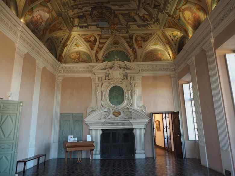 Inside Grimaldi Castle-Cagnes sur Mer
