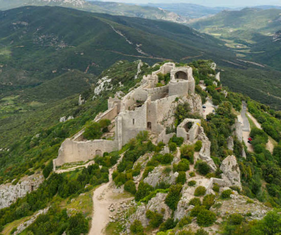 France Bucket List Chateau de Peyrepertuse