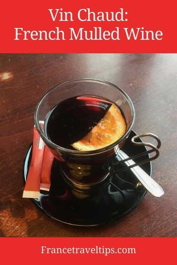 Vin chaud French mulled wine