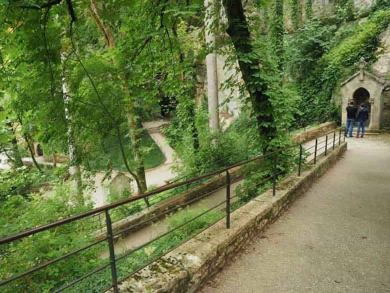 Chemin de Croix, Rocamadour