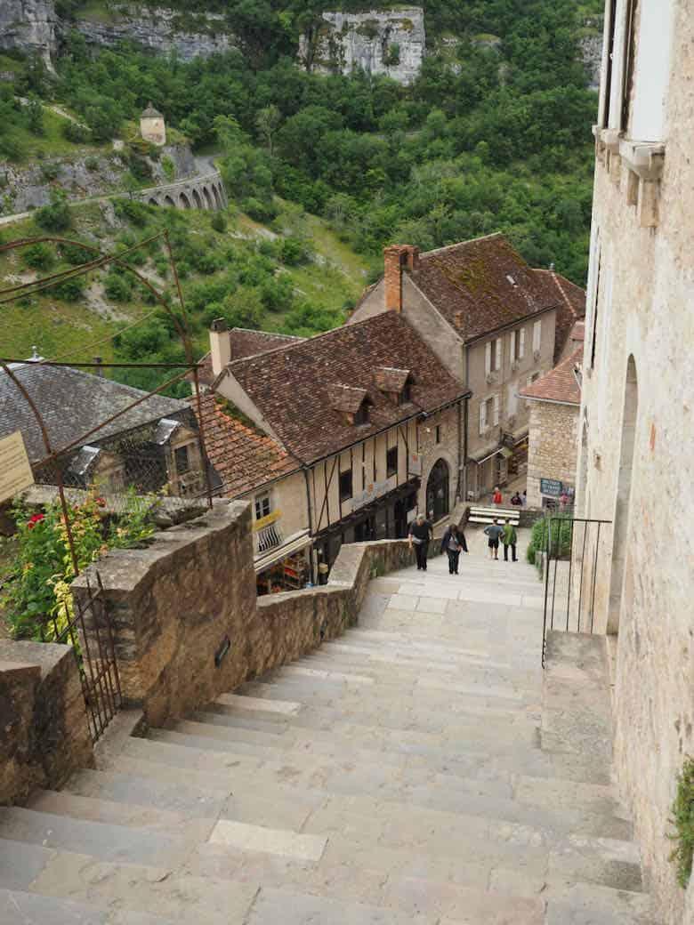 Le Grand Escalier des Pèlerins, Rocamadour