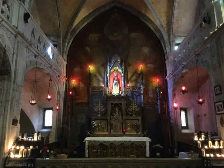 Black Madonna in Chapelle Notre-Dame, Rocamadour