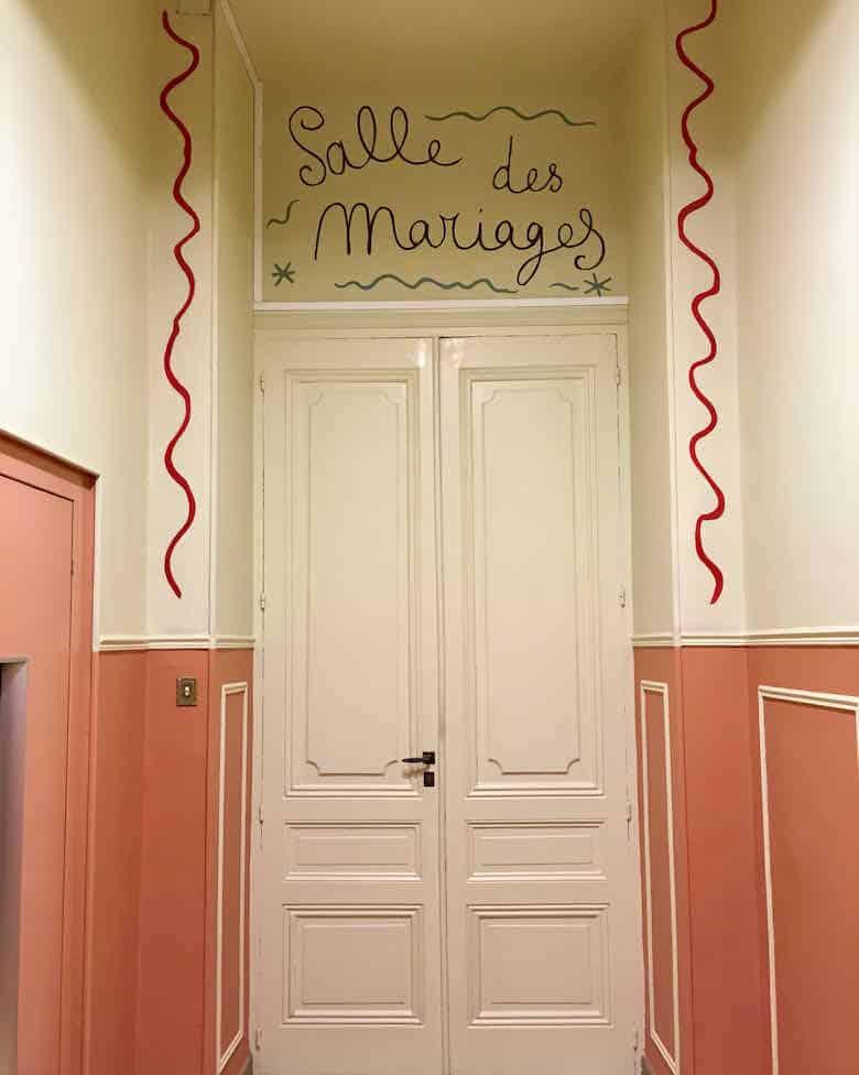 Entrance to La Salle des Mariages, Menton