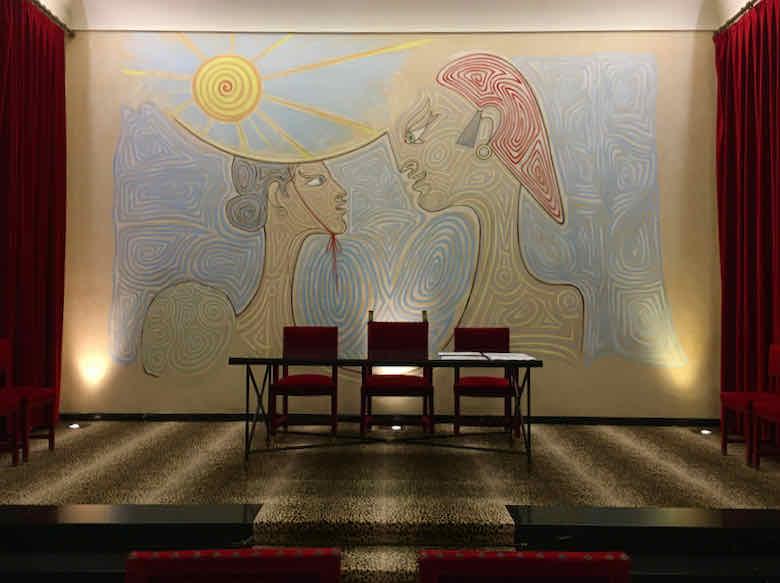 Salle des Mariages-Jean Cocteau Menton