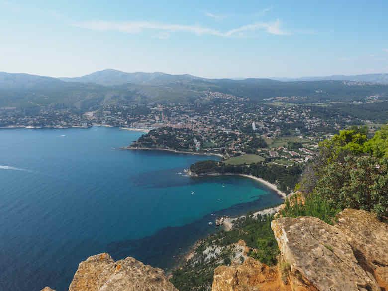 View from along La Route des Cretes (J .Chung)