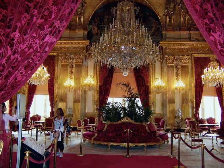 Inside Chateau de Versailles