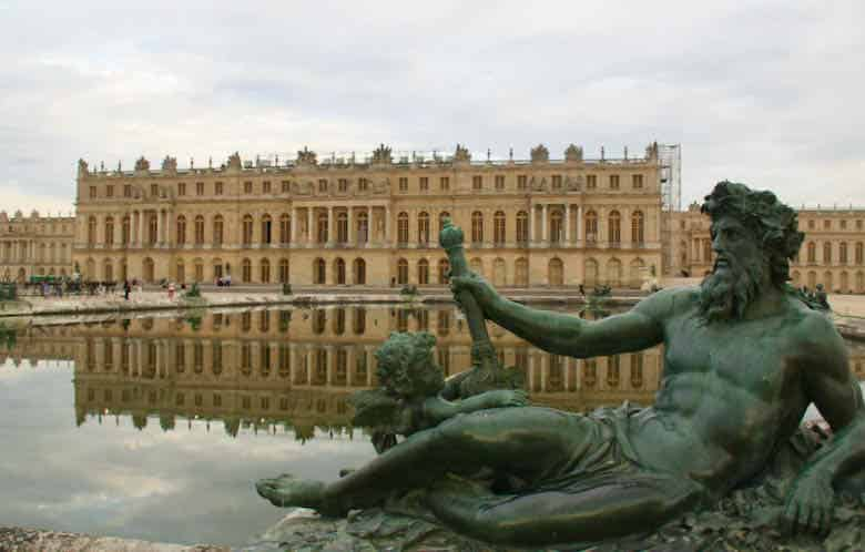 King Neptune at Chateau de Versailles