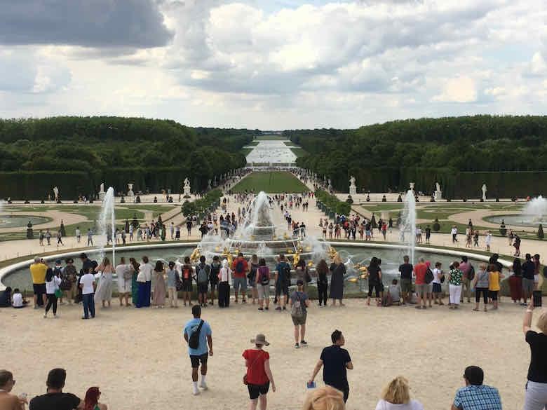 Musical fountains at Versailles