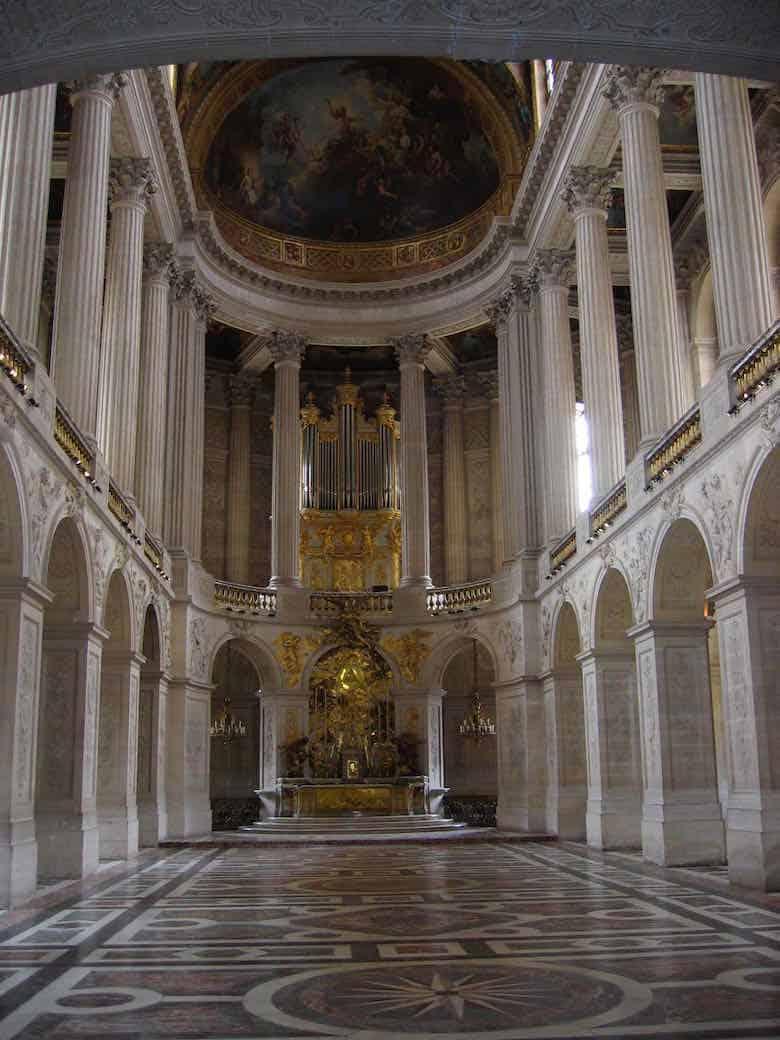 Royal Chapel in Chateau de Versailles (J. Chung)