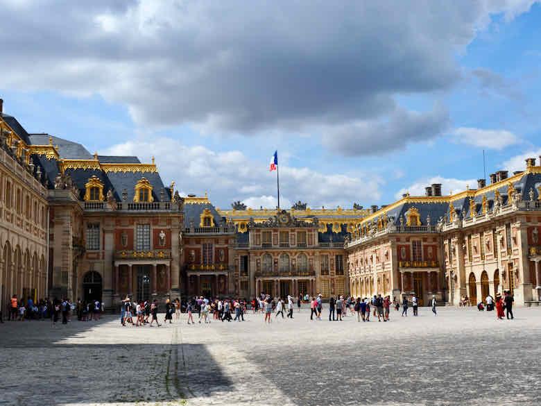 Royal Courtyard at Versailles