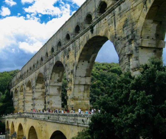 Pont du Gard-Famous Bridges In France