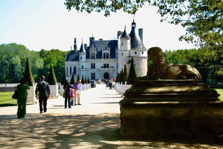 Chateau de Chenonceau In April