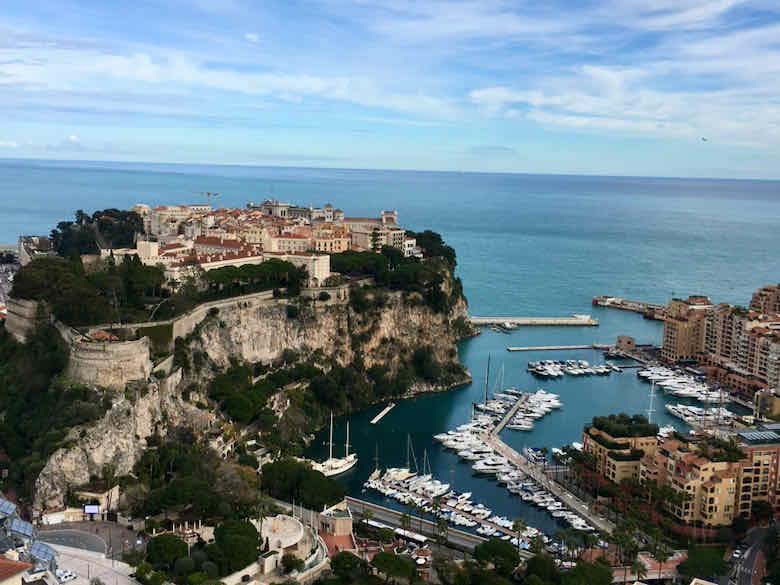Monaco in March