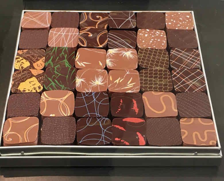 Chocolates from Jacques Genin, Paris