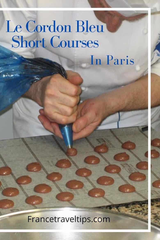 Le Cordon Bleu Short Courses In Paris (Pin)