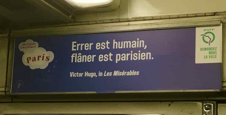 Flaner est parisien