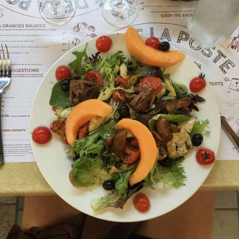 Lunch in Gout, Provence