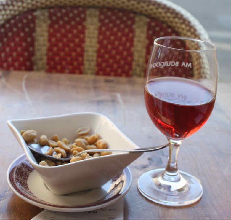 Wine at Ma Bourgogne, Paris